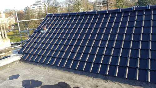 Finition toiture après travaux